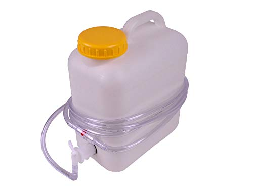 Aquamatik Fallwasserbehälter Gabelstaplerbatterie Wasserkanister 10 L Behälter