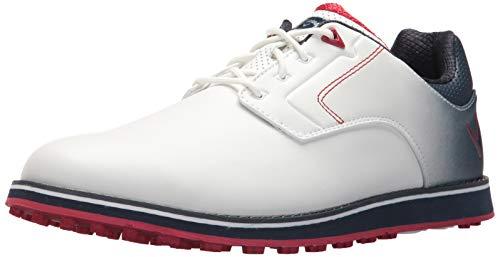Callaway Herren LaJolla SL Golfschuh, Weiá (weiß/Marineblau), 43 EU