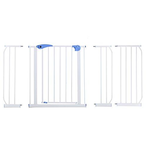 Yorbay Barrière de sécurité Enfant Extensible de 75cm à 175cm - 15 Versions Disponibles (145-155cm)