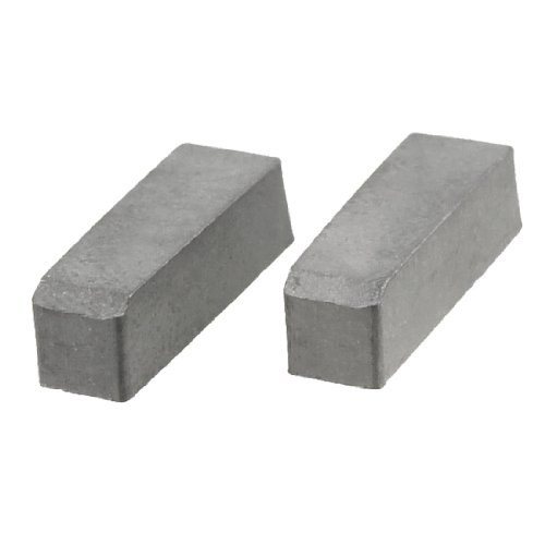 2 Pcs Welding Blade Hard Alloy Cemented Carbide Inserts for Turning Lathe Test
