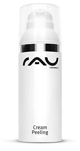 Rau Gesichtsreinigung - Cream Gesichts-Peeling 50ml, reinigt, belebt, erfrischt die Gesichts-Haut und spendet Feuchtigkeit für eine weiche, glatte und enstpannte Mimik