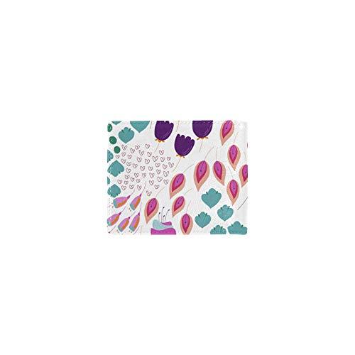 Flores abstractas Arte de Dibujos Animados Tarjeta de Visita...