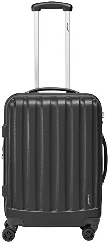 Packenger Velvet Koffer, Trolley, Hartschale 3er-Set in Schwarz, Größe M, L und XL - 4