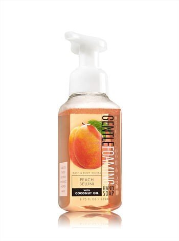 Bath & Body Works PEACH BELLINI Gentle Foaming Hand Soap 8.75 oz / 259 mL