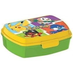 Pokemon Box Colazione Scatola Spuntino Lunchbox Portamerenda Porta SANDWICH Bambini Scuola