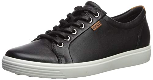 Ecco Damen SOFT7W Sneakers, Schwarz (Black 1001), 41 EU