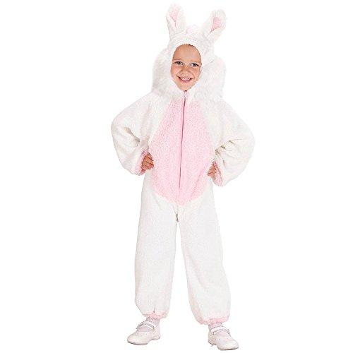Costume vestito abito travestimento carnevale bambina coniglietto fuzzy-