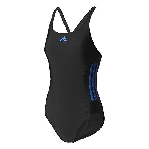 adidas Inf Ec3sm Einteiliger Badeanzug für Damen 36 schwarz (schwarz/blau)