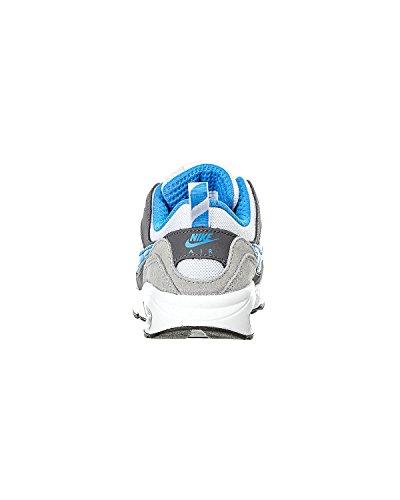 Nike Air Max Trax (Ps), Chaussures de Running Entrainement Garçon, Noir Blanco / Azul / Gris (White / Pht Blue-Wlf Gry-Drk Gry)
