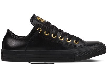 Converse All Star Ox W chaussures Black/ Gold/ Black
