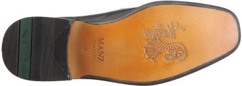 Manz Coll AGO G 134005, Scarpa classica stringata Uomo Nero