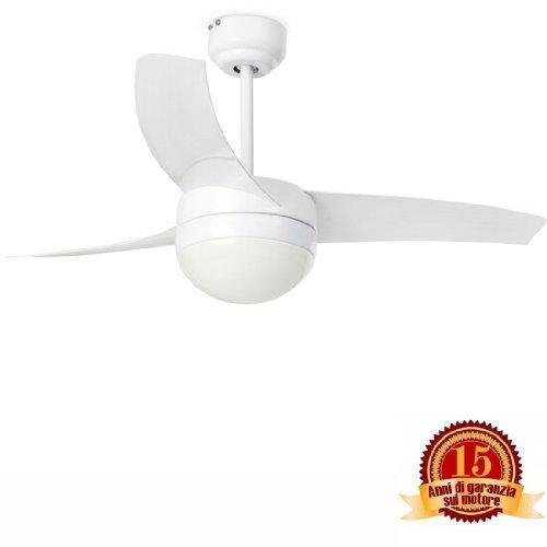 Faro 33415 - EASY Ventilatore da soffitto bianco