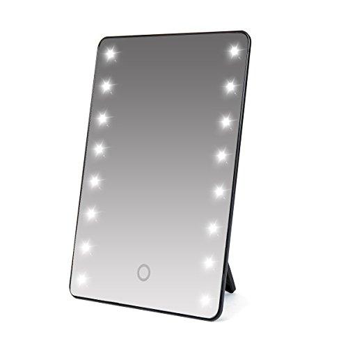 Luce regolabile specchio da trucco a tocco super luminoso con 16 led cosmetico da tavolo make up - Specchio trucco illuminato ...