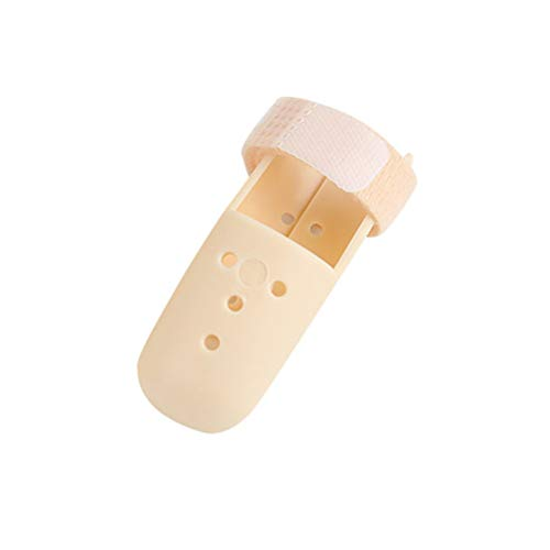 SUPVOX Férula de dedo extensión para dedo nudillos inmovilización dedo fracturas heridas el cuidado y dolor postoperatorio (42-48MM)