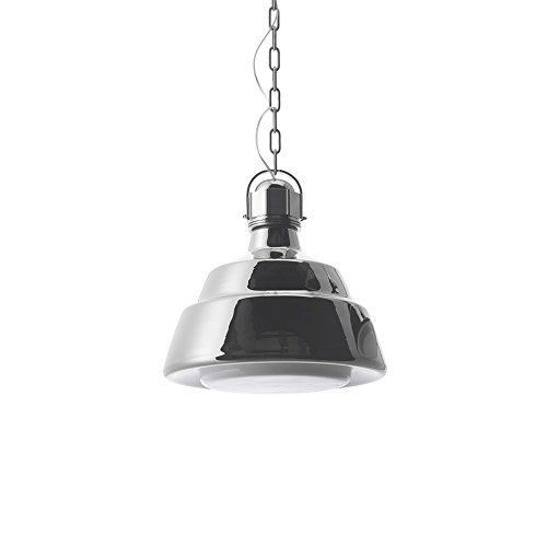 Diesel With Foscarini Glas Petit Lampe Suspendue Chromée