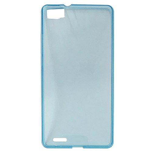 Easbuy Handy Hülle TPU Silikon Case Etui Tasche Schutzhülle für CUBOT X16 / Cubot X17 Smartphone (Blau)