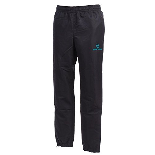 Sergio Tacchini Carson Pantalon Homme, India Ink/Bright Turquoise, FR : M (Taille Fabricant : M)