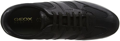 Geox U Avery A, Sneakers Basses Homme Noir (Black)