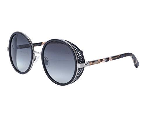 Jimmy Choo Sonnenbrillen (ANDIE-N-S 80790) glänzend schwarz - dunkel gun metall - blau-grau verlaufend