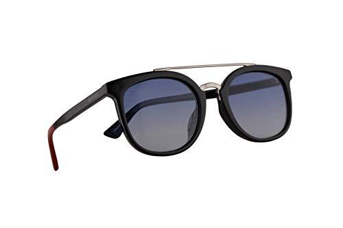 Gucci GG0403SA Sonnenbrille Schwarz Mit Mehrfarbigem Verlaufsglas Gläsern 52mm 004 GG0403/SA 0403/SA GG 0403SA