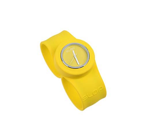 SLAPTM Watch Premium Unisex Silikon Armbanduhr - Sunny Yellow