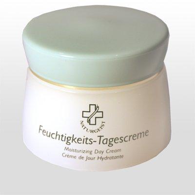 Hagina Feuchtigkeits-Tagescreme 50ml, leichte, schnell einziehende Creme mit wertvollen Inhaltsstoffen für die empfindliche und extrem trockene Haut -