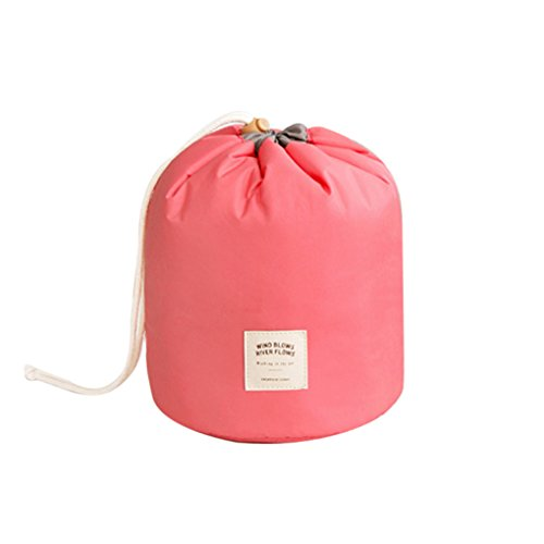 Mini Kosmetik-etui (QHGstore Spielraum-Speicher-Beutel-Toilettenartikel-Verfassungs-Beutel-Kosmetik-Etui Rot)