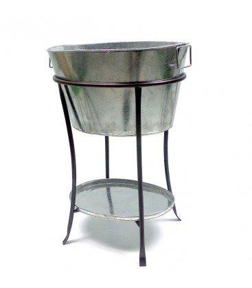 Weinkühler m/Stand Samy H72cm Material:Eisen verzinkt
