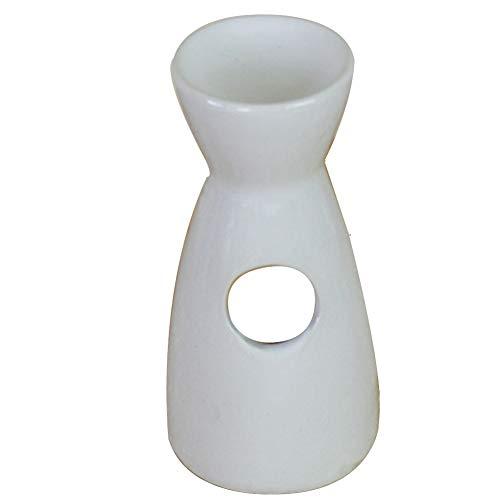 Vase Form Keramik Teelichthalter Aromatherapie ätherisches Öl Brenner Wachs Melt Warmer