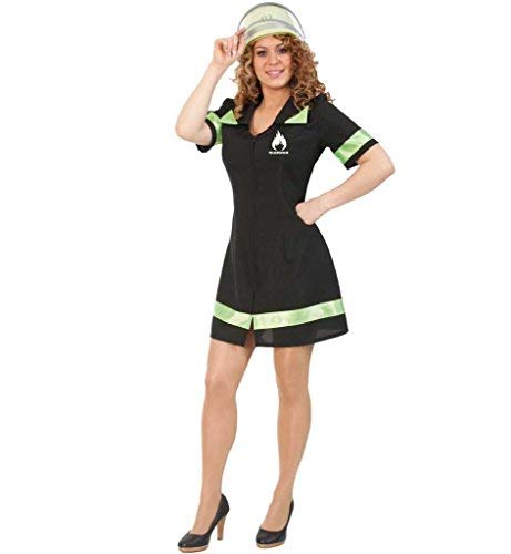 Feuerwehrmann Weibliche Kostüm - KarnevalsTeufel Damenkleid Feuerwehrfrau, Feuerwehrkostüm (34)