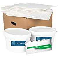 isocomplex Solution pour isolation thermique, supprime moisissures, humidité de risalita–Kit complet pour 3m2