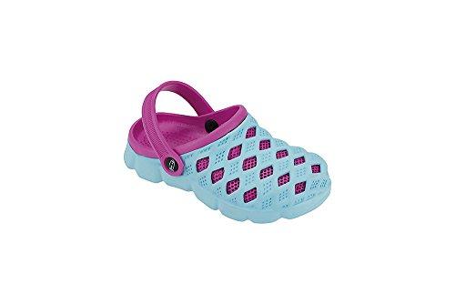"Fashy Kleinkinder Aqua-Schuh Modell ""Sephia"" 7446 00 3035 hellblau-pink"