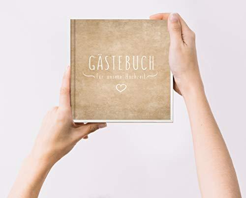 Blanko Hardcover Gästebuch - 5