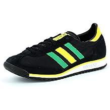 adidas Originals SL 72 - Zapatillas de cuero hombre negro Talla:46 2/3