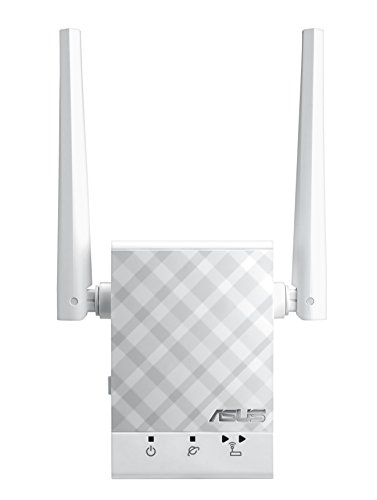 Asus RP-AC51 AC750 WLAN Repeater (AC-WLAN, zwei externe Antennen, Power und WPS-Schalter, Asus Dual-Band ExpressWay, Asus Roaming Funktion)