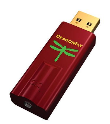 Audioquest Dragonfly RED USB-Digital-Audio-Konverter (D/A Wandler) Audioquest-adapter