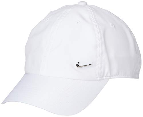 Nike Erwachsene Sportswear Heritage86 Schirmmütze, weiß, One Size
