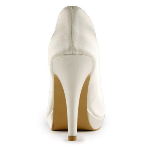 Jia Jia Wedding 3701 chaussures de mariée mariage Escarpins pour femme Beige
