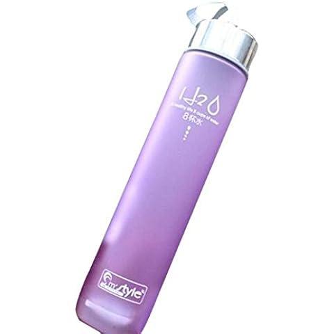 280ml Longra Nueva portable se divierte la botella de la bici El protegido de agua de plástico
