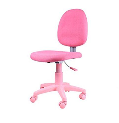 Nimm einen Stuhl Moderne Minimalist Nordic Swivel Stuhl Drehstuhl Computer Stuhl Bürostuhl Student Stuhl Konferenzstuhl Barhocker (Farbe : Rosa) -