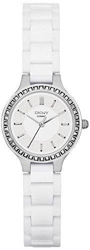 DKNY Damen-Armbanduhr XS Analog Quarz Keramik NY2249