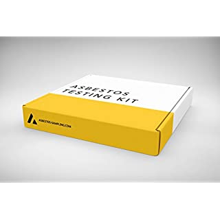Asbestos Test Kit x 5 Samples, Including PPE, Return Postage and sample test fee