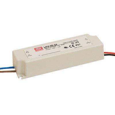 Preisvergleich Produktbild MeanWell LED-Treiber, LED-Trafo Konstantspannung Mean Well LPV-35-12 36 W (max) 0 - 3 A 12 V/DC Überlastschu