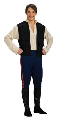 Erwachsene Deluxe Han Solo (Deluxe Han Solo Kind Kostüme)