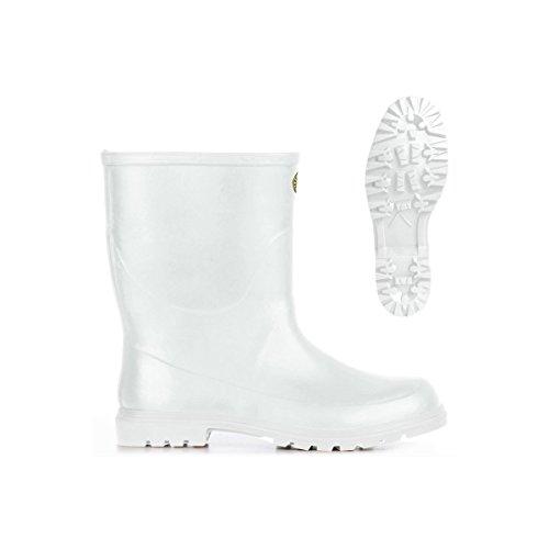 Stivali in gomma - 7133-tronchetto Alpina White