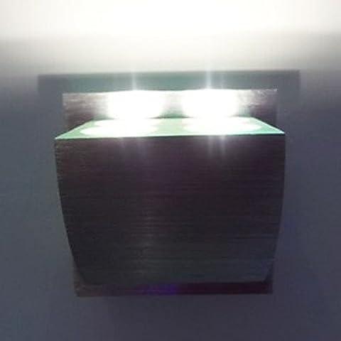 ALUK-4W llevó la luz de pared moderno con dispersión de luz Dise?o Cuerpo cúbico UFO