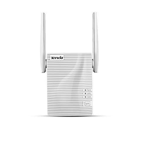 Tenda A15 Ripetitore WiFi Range Extender Universale AC Dual Band,750Mbps, 1 10/100M LAN,2 Antennas,LED Segnale Intelligente