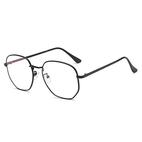 Yefree Fashion Unisex Vintage Full Metal Square Frame Optische Gläser