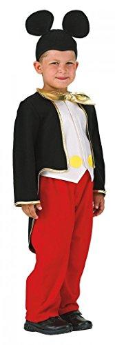 Mäuschen Junge, Karnevalkostüm, Größe 104 (Verspielte Maus Kostüm)