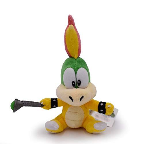 YOUHA 15-28 cm Super Mario Broser JR 3D Land Knochen Kubah Koopa Drache Dark Bowser Kamek Waluigi Wario Lemmy Morton Roy Bully Plüschtiere Lemmy